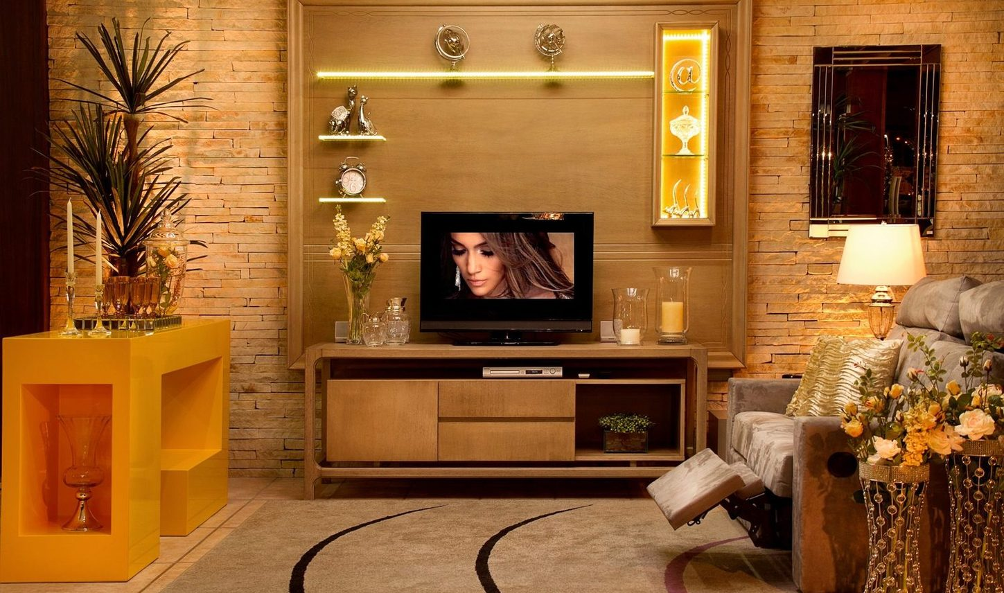 Painel para TV e home Theater