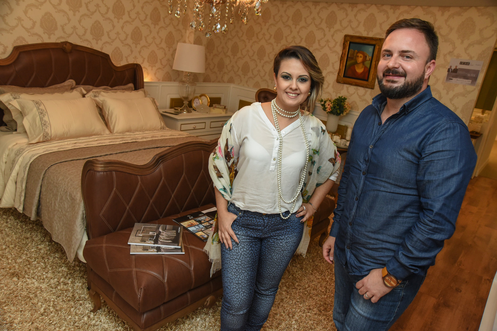 Paula Falcão e Lino de Souza